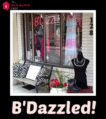 bdazzled with text