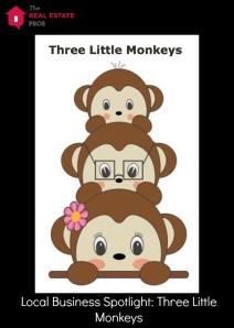 three little monkeys and logo